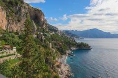 Costa di Amalfi - Furore Fotografia Stock