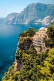 Costa di Amalfi. L'Italia Fotografia Stock Libera da Diritti