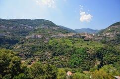 Costa di Amalfi, Ravello Fotografia Stock