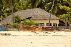 Costa di Atmosfera dell'isola turistica, Madagascar Immagine Stock Libera da Diritti