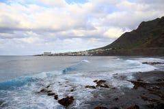 Costa di Bajamar Immagini Stock