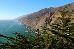 Costa di Big Sur, U.S.A. Fotografia Stock