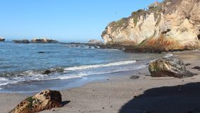 Costa di California stock footage
