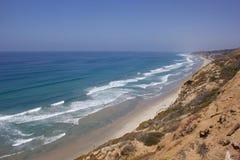 Costa di California immagini stock