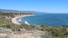 Costa di California video d archivio