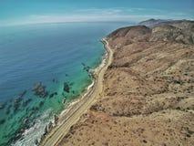 Costa di California Immagini Stock Libere da Diritti