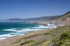 Costa 3 di California del Nord Fotografia Stock