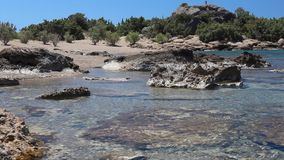 Costa di Creta stock footage