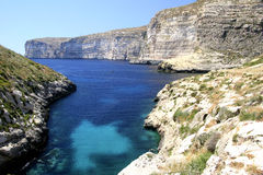 Costa di Gozo Immagine Stock Libera da Diritti