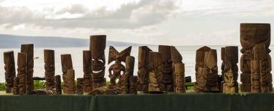 Costa di Lahauna in Maui, Hawai fotografie stock libere da diritti