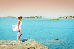Costa di Mar Nero Immagine Stock