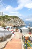 Costa di Mar Nero Fotografia Stock