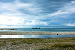 Costa di mare Fotografia Stock