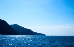 Costa di mare Fotografia Stock Libera da Diritti