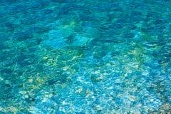 Costa di mare ionico di estate, Albania immagine stock libera da diritti
