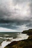Costa di mare a Laredo Fotografia Stock