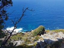 Costa di Mer Fotografie Stock Libere da Diritti