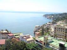 Costa di Napoli Immagini Stock