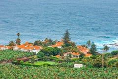 Costa di nord-ovest di Tenerife, Spagna fotografie stock