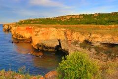 Costa di pietra Kamen Bryag Bulgaria Fotografia Stock