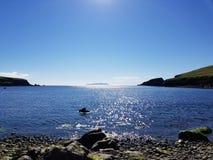 Costa di Shetland Immagini Stock