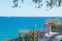 Costa di Tarragona in Catalogna (Spagna) Fotografia Stock