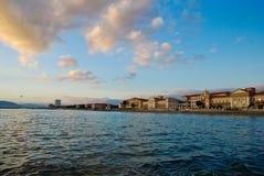 Costa di Tyrrenical Immagine Stock