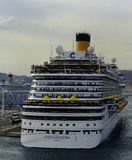 Costa Diadema in the port of Marseille Royalty Free Stock Images