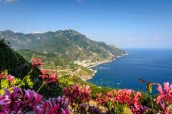 Costa diRavello-Amalfi immagini stock libere da diritti
