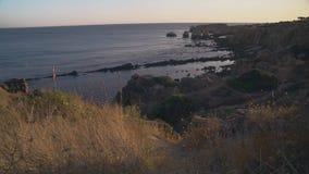 Costa do Algarve perto de Albufeira, Portugal filme
