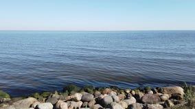 Costa do lago vídeos de arquivo