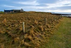 Costa do leste do continente de Orkney Imagens de Stock