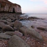 Costa do leste Inglaterra de Yorkshire da aterrissagem norte Imagens de Stock Royalty Free