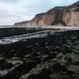 Costa do leste Inglaterra de Yorkshire do dique dos dinamarqueses Fotos de Stock Royalty Free