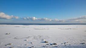 A costa do mar Báltico Fotografia de Stock Royalty Free