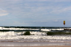 Costa do mar Báltico, Imagem de Stock