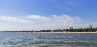Costa do mar Báltico em Sopot, Polônia Fotografia de Stock