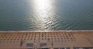 Costa do mar de Azov video estoque
