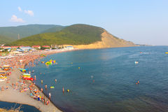 A costa do Mar Negro Foto de Stock