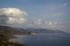 Costa do Mar Negro, Crimeia Imagens de Stock