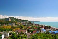 Costa do Mar Negro Dagomys Rússia Foto de Stock Royalty Free