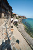 A costa do Mar Negro de Bulgária Fotos de Stock