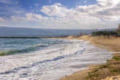 Costa do Mar Negro, Varna, Bulgária Imagem de Stock Royalty Free