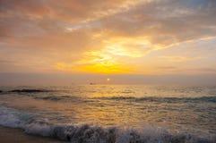 Costa do Mar Negro, Varna, Bulgária Imagens de Stock Royalty Free