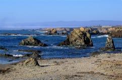 Costa do norte de Califórnia imagens de stock