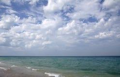 Costa do oceano Foto de Stock Royalty Free