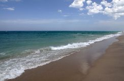 Costa do oceano Fotografia de Stock