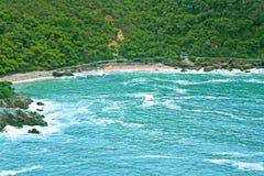 Costa do oceano Imagem de Stock Royalty Free