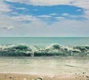 Costa do oceano Imagem de Stock