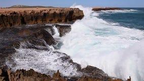 Costa do oceano da Austrália Ocidental video estoque